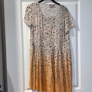 ASOS floral short sleeve dress US size 8